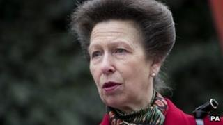 File photo dated 27/3/2013 of the Princess Royal