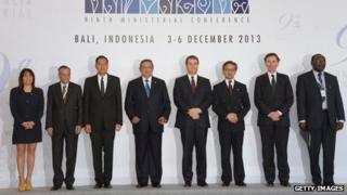 ministers in bali