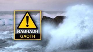 Rabhadh buidhe bho Oifis na Sìde