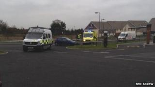 Scene of the incident in Minster