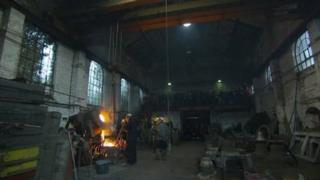 Foundry workers