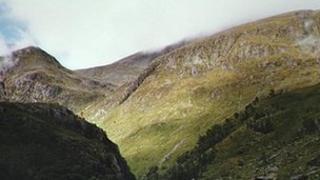 Scottish hills.