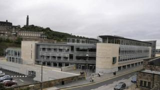 The Edinburgh City Council building