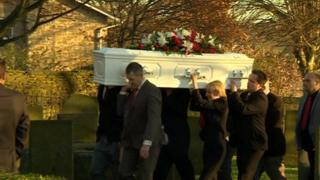 Claire James funeral