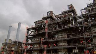 Ineos plant in Norway