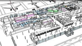 Aberdeen International Airport plan