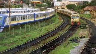 Train in Colombo (file photo)