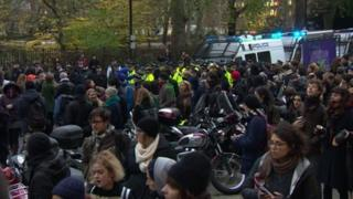 Protests at ULU