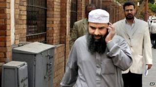 Abu Omar, also known as Hassan Mustafa Osama Nasr, in Egypt (April 2007)
