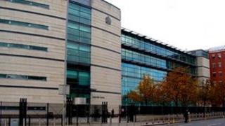 Belfast court complex at Laganside