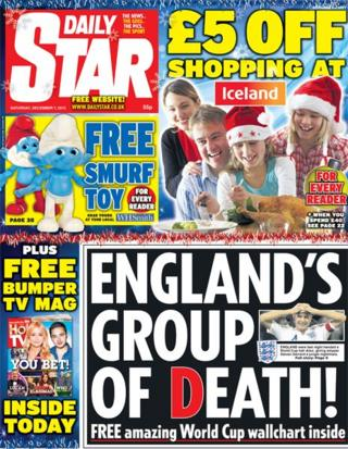 Daily Star front page 7/12/13