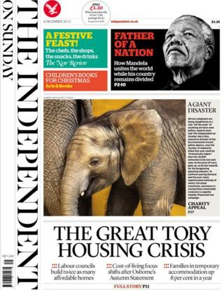 Independent on Sunday 8/12/13