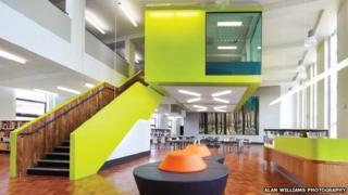 Waltham Forest College interior