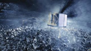 Philae on Rosetta