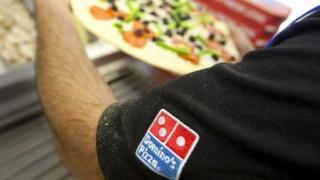 Domino's Pizza worker
