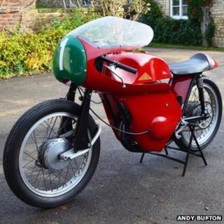 Mark 1 Telstar Cotton motorcycle