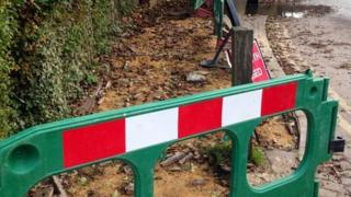 Theft of paving in Eynsford