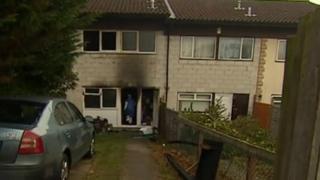 House fire in Daniels Welch