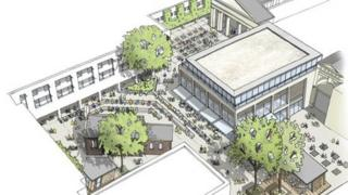 Artist impression of what the centre could look like