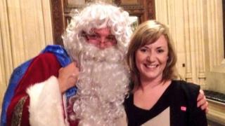 Ed Balls with fellow Labour MP Pamela Nash