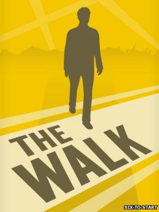 Logo for The Walk