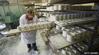 ceramics worker