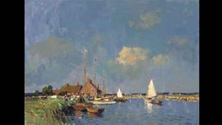 Summer On The Norfolk Broads by Edward Seago
