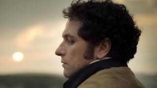 Matthew Rhys as Darcy in Death Comes to Pemberley