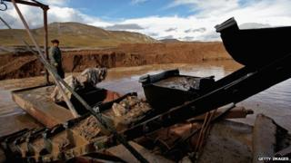 Tibet mine