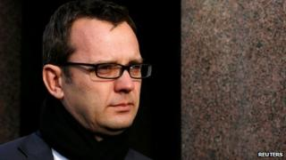 Andy Coulson outside the Old Bailey on 9 December 2013