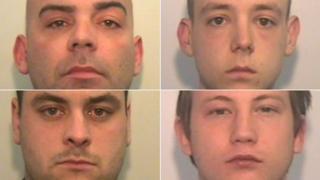 From top left clockwise: Matthew Cheston, Worthington-Breen, Connor Macphee and Richard Clancy