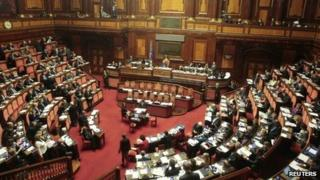 Italian Senate (file photo)
