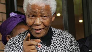 Nelson Mandela in 2006