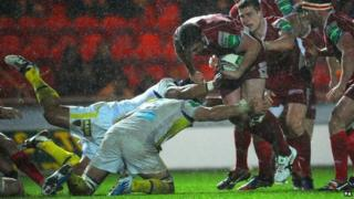 Scarlets against Clermont Auvergne on Saturday