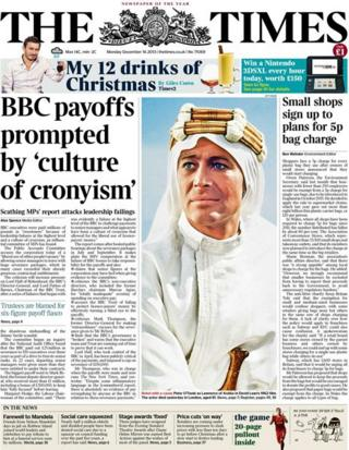 Times front page 16/12/13