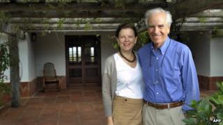 Douglas Tompkins and his wife Kristine