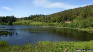 Tumbleton lake