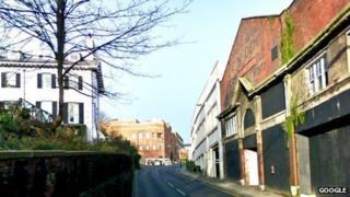 Former Dennis printworks on Vernon Road in Scarborough