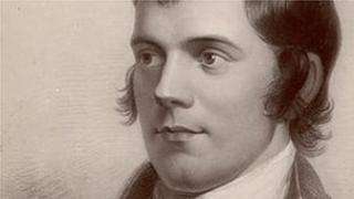 Robert Burns is the man who brought us Auld Lang Syne