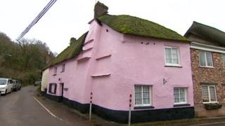 Pink house, after