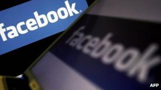 File image of Facebook logo