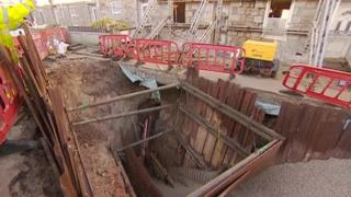 Underground mine shaft workings