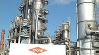 Dow chemicals plant