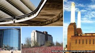 Preston Bus Station, Battersea Power Station, Water Eaton grain silo and Bournemouth's IMAX cinema