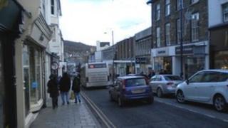 Aberystwyth's Great Darkgate Street