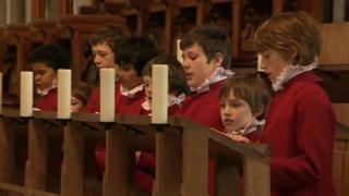 Llandaff Cathedral choristers