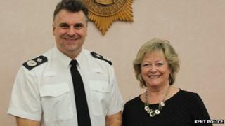 Alan Pughsley and Ann Barnes