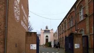 Old Royal Worcester Porcelain factory