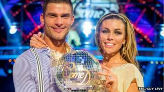 Abbey Clancey and partner Aljaz Skorjanec win Strictly Come Dancing 2013