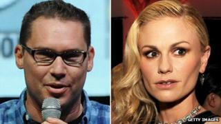 Bryan Singer and Anna Paquin